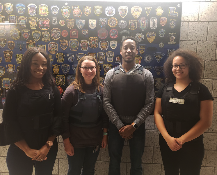Class of 2019 participants at the Worcester Police Department